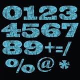 números Fotos de archivo