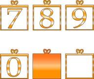 Números ilustração royalty free