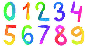números Imagem de Stock Royalty Free