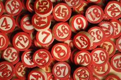 Números al azar fotografía de archivo libre de regalías