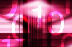 Números binarios Imagen de archivo libre de regalías