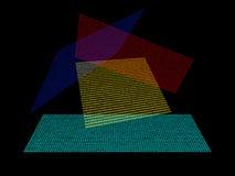 Números binarios Fotografía de archivo libre de regalías