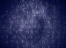 Números codificados Foto de Stock