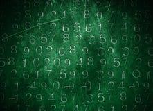 Números codificados Foto de Stock Royalty Free