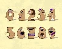 Números da música Fotografia de Stock