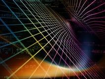 Números de geometria Imagens de Stock Royalty Free