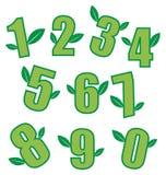 Números de la ecología Ilustración del Vector