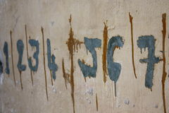 Números de la prisión S-21 Imagen de archivo