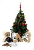 Números de papel que formam 2013 Imagens de Stock Royalty Free
