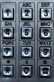 Números de telefone Imagem de Stock Royalty Free