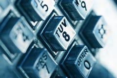 Números de telefone Fotografia de Stock Royalty Free