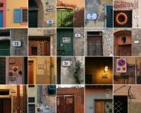 Números de Toscana imagen de archivo