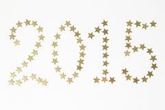 Números del Año Nuevo Fotografía de archivo