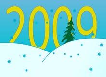 Números del Año Nuevo Fotos de archivo