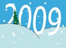 Números del Año Nuevo Fotos de archivo libres de regalías