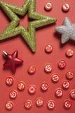 Números del bingo en estilo plano Fotografía de archivo