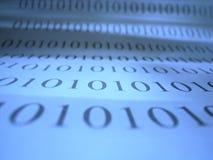 Números del código binario Imagenes de archivo