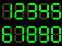 Números del dígito del vector stock de ilustración