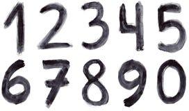 Números del Grunge Imagen de archivo