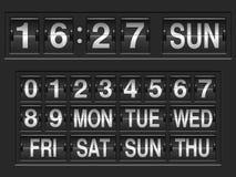 Números del marcador Imagenes de archivo