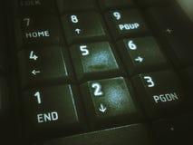 Números do teclado Imagem de Stock Royalty Free