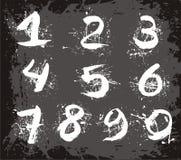 Números do vetor Foto de Stock