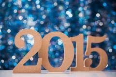 Números grandes 2015 Foto de archivo
