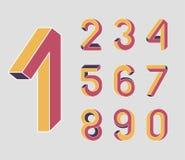 Números imposibles de la geometría Imagen de archivo