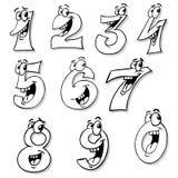 Números sonrientes libre illustration