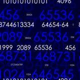 Números. Versão 2 Foto de Stock