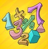 Números y operadores libre illustration