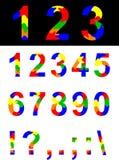 Números y símbolos libre illustration
