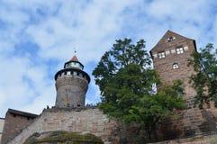 Nürnberg-Burg Stockfoto