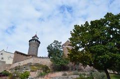 Nürnberg-Burg Stockfotos