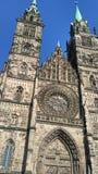Nürnberg-Kathedrale stockfotografie