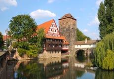Nürnberg-Landschaft lizenzfreie stockbilder