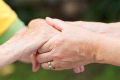 Nützliche Hände Stockbild