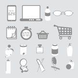 Nützliche inländische Einzelteile Clipart Lizenzfreies Stockfoto