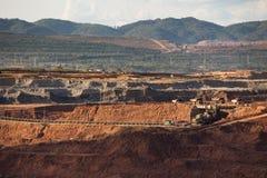 Nützliche Mineralien der Produktion Lizenzfreies Stockfoto