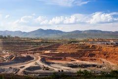 Nützliche Mineralien der Produktion Lizenzfreie Stockfotografie
