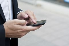 Nützliche Sache - smartphone Lizenzfreie Stockbilder