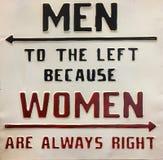 Nützliche Tipps für Männer und Frauen lizenzfreie stockbilder