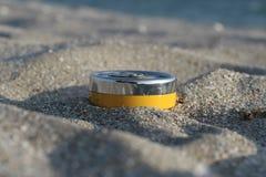 Nützlicher Zusatz auf dem Strand Lizenzfreie Stockfotografie