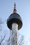 N汉城塔韩国 免版税库存图片