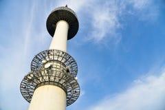 N汉城塔,偶象地标在汉城 免版税库存照片
