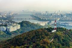 N汉城塔 免版税库存图片
