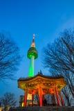 N汉城塔 免版税图库摄影