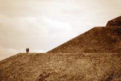 n金字塔星期日teotihuac 免版税图库摄影