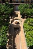 ³ n, Alcazar-Palast Casa de la Contratacià in Sevilla, Spanien Stockfotos