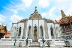 N ancient temple at Wat Pra Keaw Stock Photography